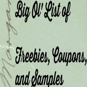 Real Free Samples, Sweepstakes and Coupons for September