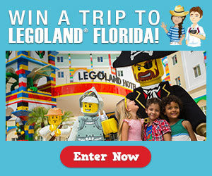 Win an All Expense Paid Trip to Legoland, Florida
