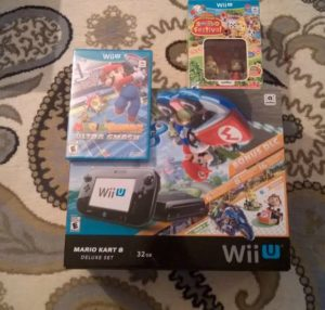 Wii U Mario Kart Deluxe Kit Review