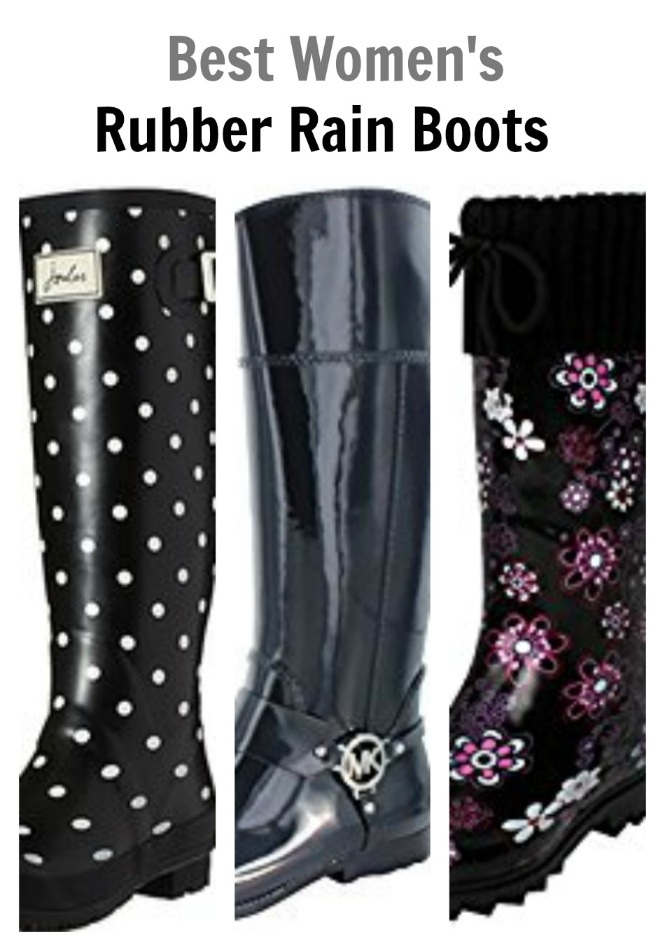 Best Women&39s Rubber Rain Boots - Emily&39s Frugal Tips