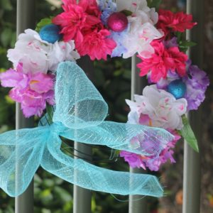 Dollar Tree Wreath Tutorial for Spring