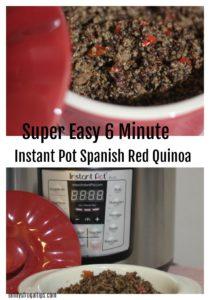 6-Minute Instant Pot Spanish Red Quinoa