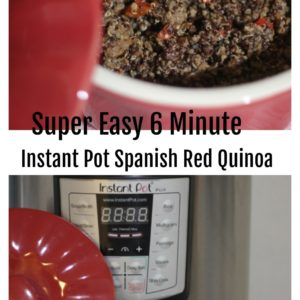 6-Minute Instant Pot Spanish Red Quinoa