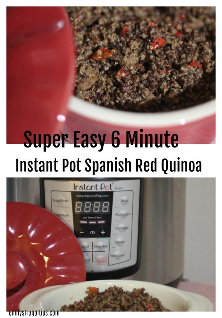 Instant Pot Spanish Red Quinoa
