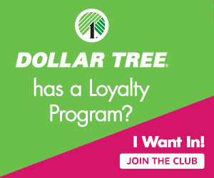 New Dollar Tree Value Seekers Club
