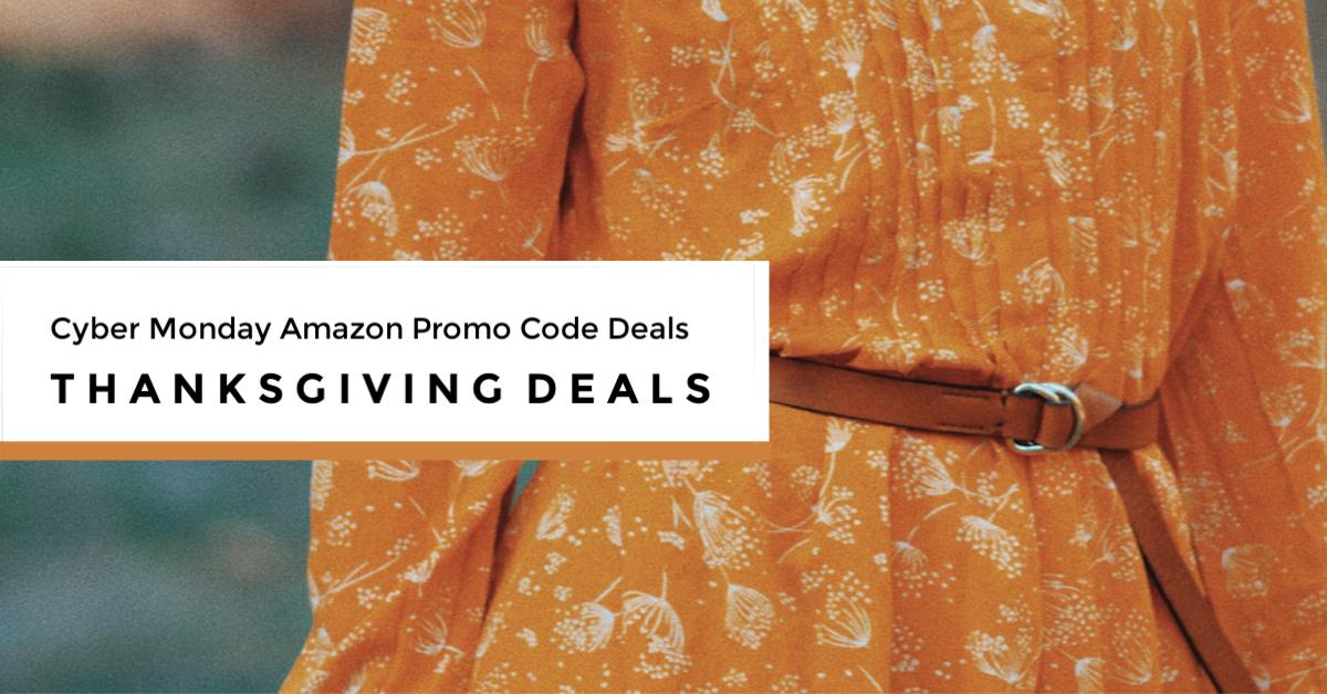 Cyber Monday Amazon Promo Code Deals